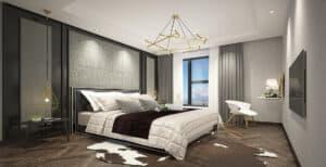 עיצוב חדר שינה יוקרתי