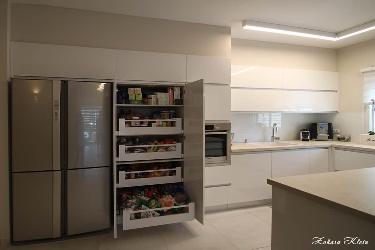 פתרון אחסון במטבח