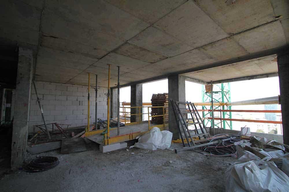 עיצוב דירת קבלן בדירה בפרויקט שרונה - מלאכת הארגון וההתאמה החלה...