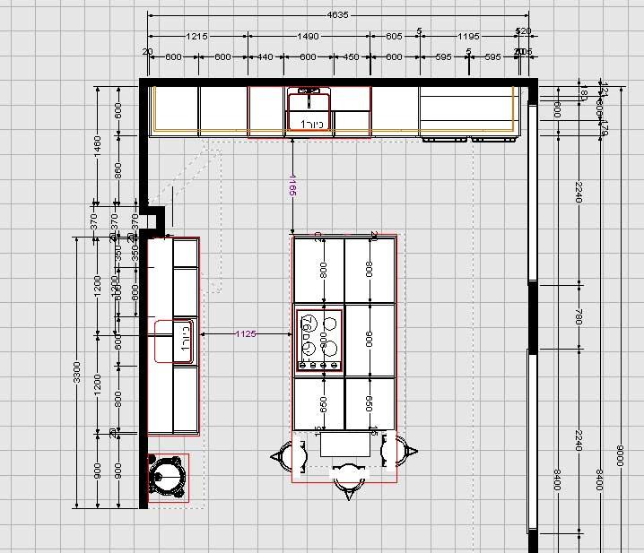 חלק קטן מתכניות שמסופקות בפרויקט ובליווי הלקוח - פרויקט שרונה תל אביב