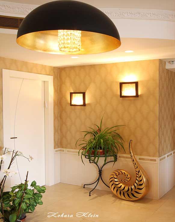שילוב דלת כניסה לחדר בעיצוב הבית
