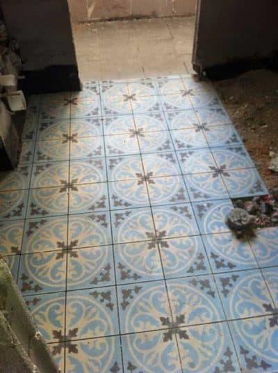 עיצוב חדר רחצה - בחירת אריחי קרמיקה בסגנון מרוקאי /פרובנס