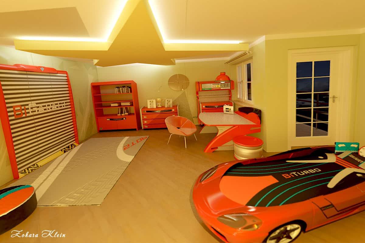 עיצוב חדר ילדים מיוחד