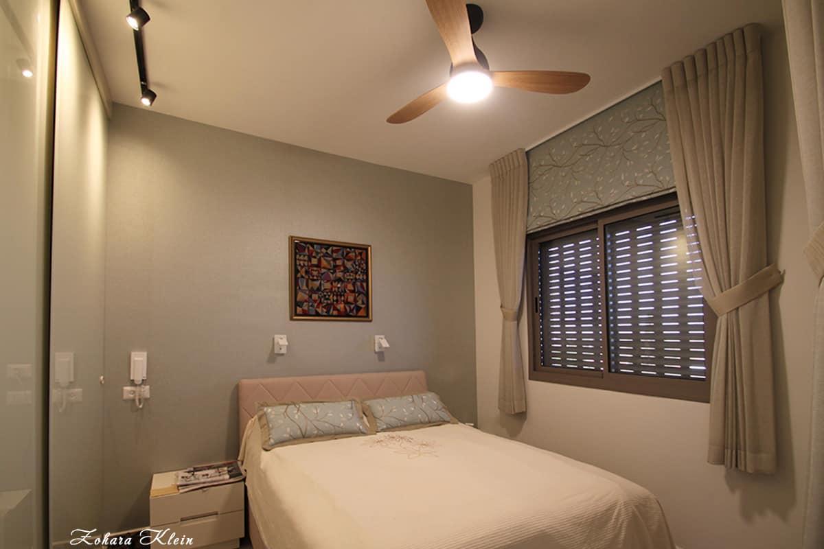 עיצוב חדר שינה הרמוני