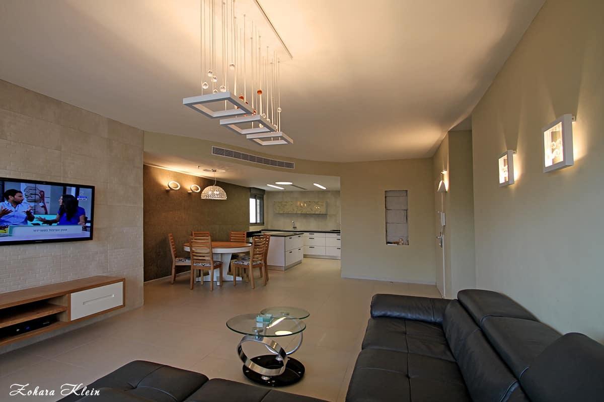 עיצוב דירה קטנה בפתח תקווה