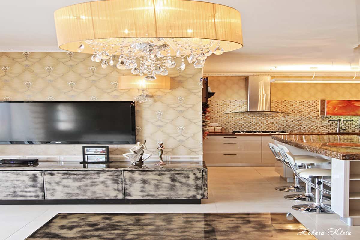 עיצוב דירת קבלן בסגנון רוסי