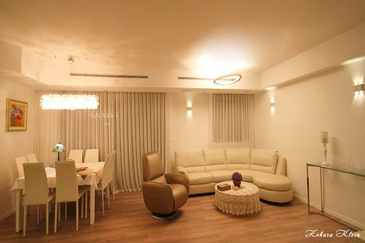 תהליך עיצוב דירת יוקרה לאחר רכישת דירה מקבלן