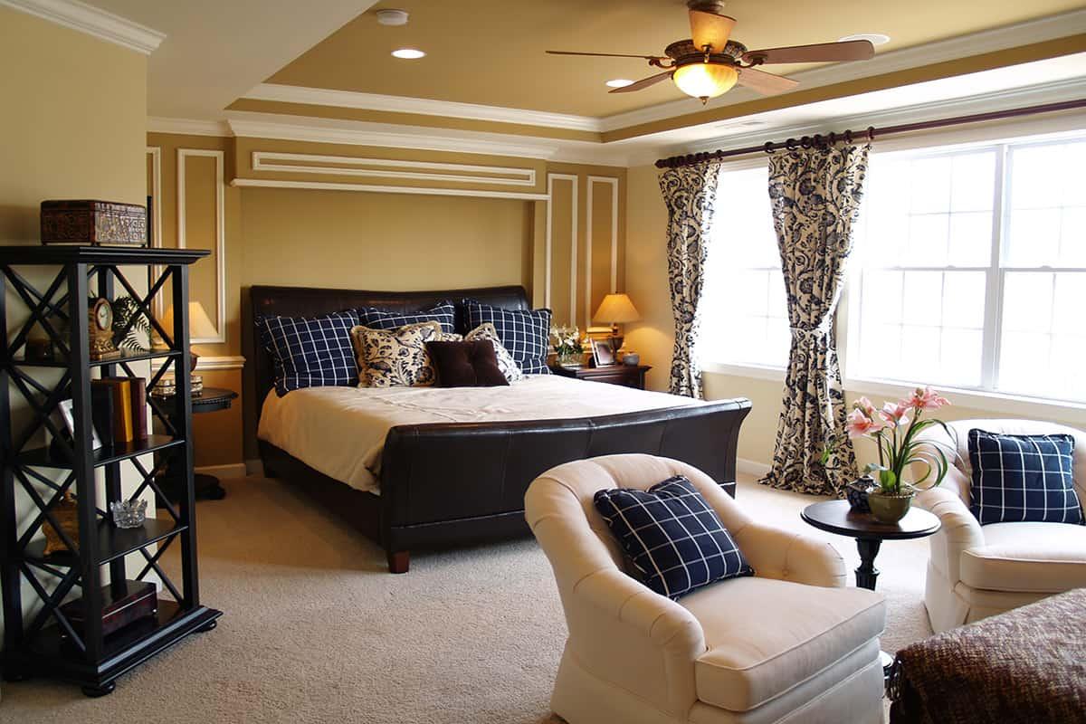 עיצוב חדר שינה אקלקטי