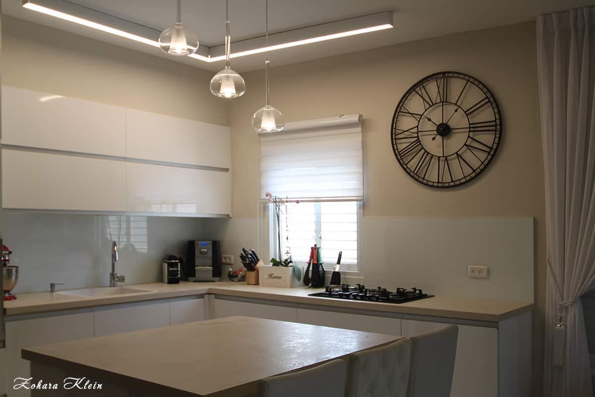 תאורת הצפה למטבח