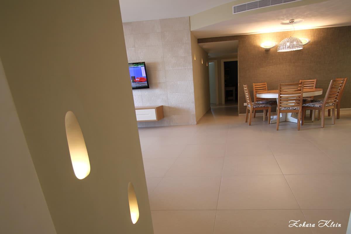 תאורת לדים בעיצוב דירה