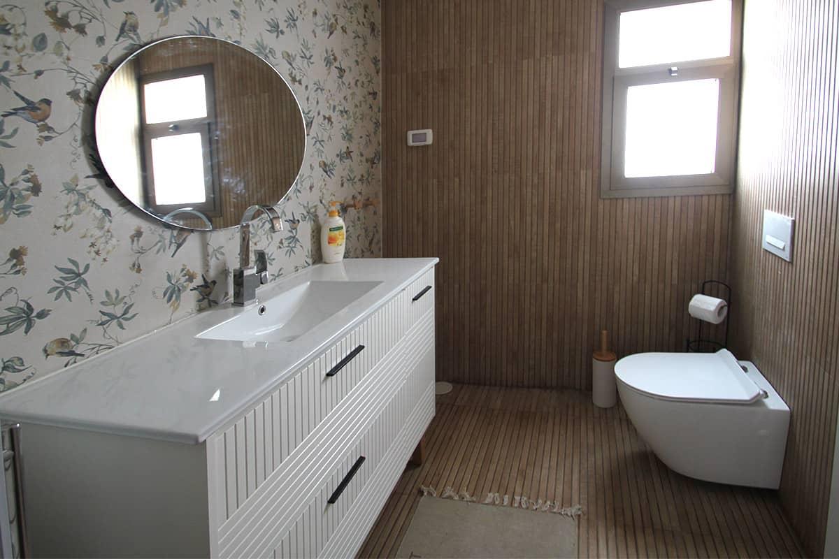 עיצוב חדרי רחצה בסגנון ספא