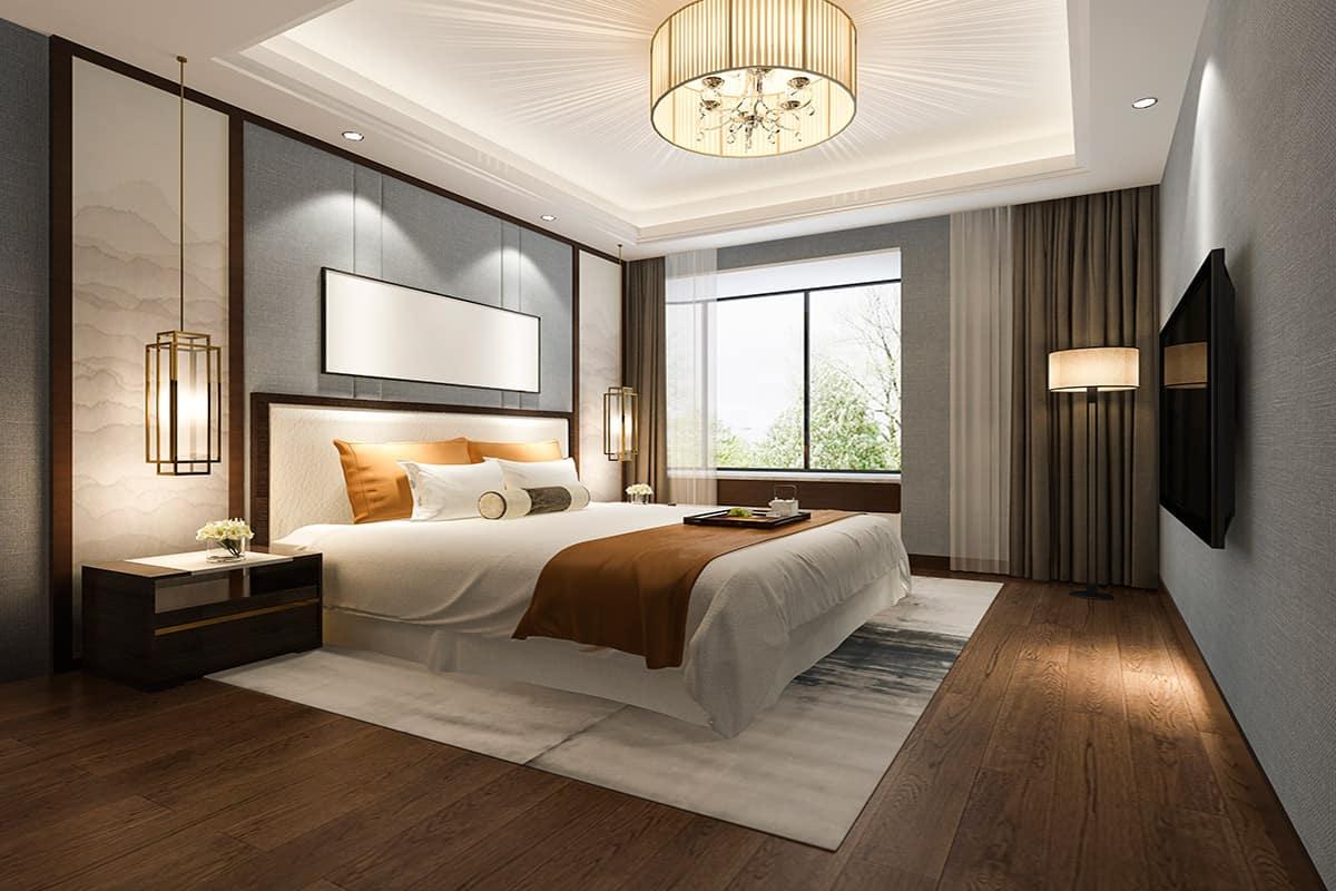 עיצוב חדרי שינה יוקרתיים
