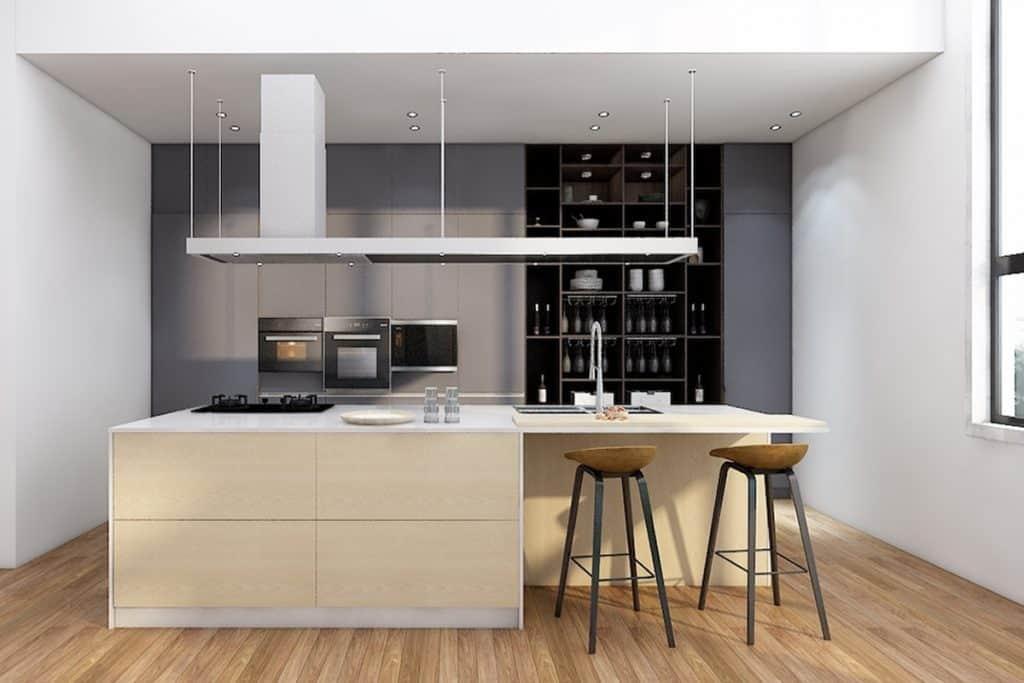 מטבח מודרני 2018 טרנד