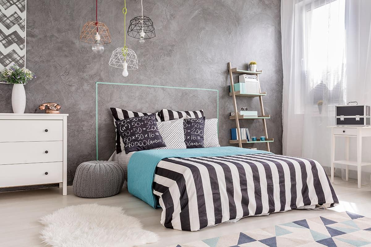 עיצוב חדר שינה נורדי סקנדינבי