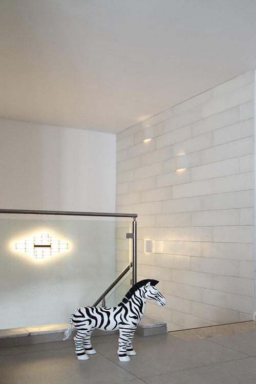 עיצוב תאורה בפנטהאוז